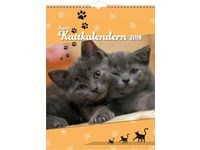 Väggkalender Katt - 1775