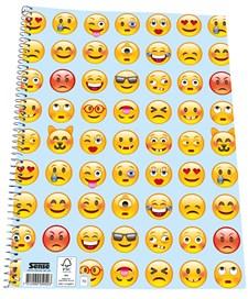 Sense Emoji Kollegieblock, FSC