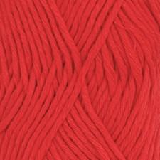 Drops, Cotton Light Uni Colour, Garn, Bomullmiks, 50 g, Rød 32