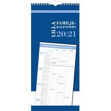 Burde Väggkalender 20-21 Lilla Familjekalendern