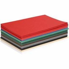 Julkartong, A5 150x210 mm,  180 g, mixade färger, 60mix. ark