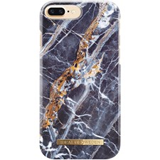 Mobildeksel, Fashion Case, Til Iphone 6/6S/7/8, Plus Midnight Blue Marble, Ideal