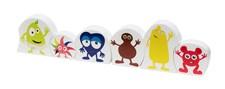 Träfigurer/pussel Babblarna, Kids Concept