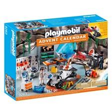 Adventtikalenteri, Spy Team-verstas, Playmobil Top Agents (9263)