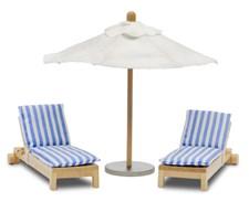 Stockholm-aurinkotuolit ja -aurinkovarjo, Lundby