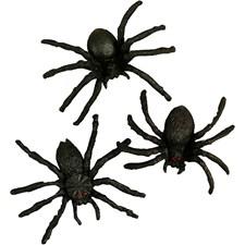 Hämähäkit, koko 4 cm, 10 kpl