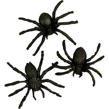 Edderkopp, str. 4 cm, 10 stk.