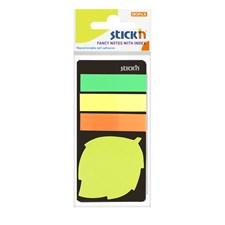 Indexfliker STICK´N 45x12, + løv 20b Neon
