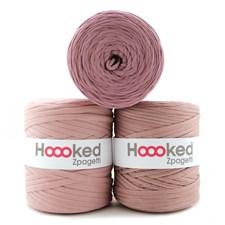Hoooked Zpagetti Garn Återvunnen bomull ca 900g Vintage pink shades (ZP001-29)