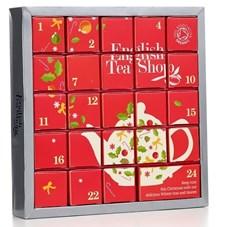 English Tea Shop Adventskalender Pyramid Röd Ekologisk