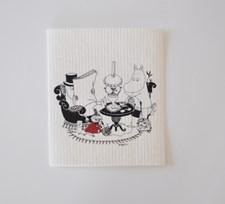 Opto Design Muminpappa Reading Disktrasa 18 x 20 cm Vit