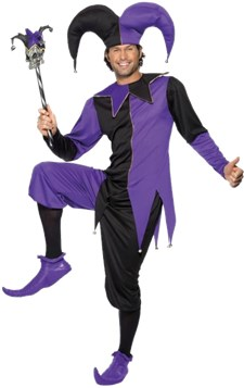 Kostyme Middelalder Joker