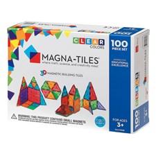 Magna-Tiles Clear Colours 100 deler