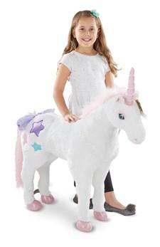 Unicorn - Plush, Melissa & Doug