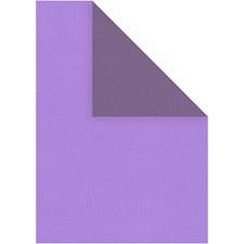 Strukturpapper, A4 210x297 mm, 100 g, 20 ark, mörklila/lila