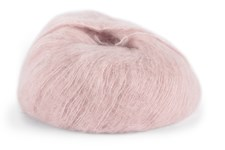 Dale Garn Erle Silk Mohair Mix 50 g Støvrosa 4203