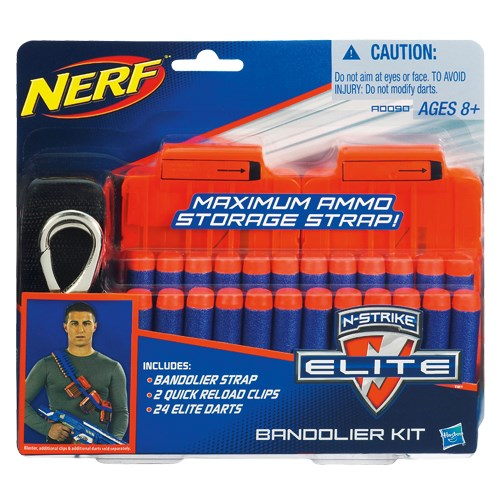 NERF N-Strike Elite Maximum Ammo Storage Strap  Nerf - uteleksaker & sportleksaker