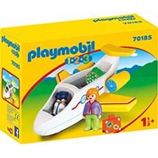 Flygplan med passagerare, Playmobil (70185)