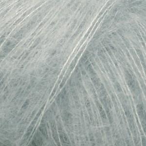 Drops Kid-Silk Garn Mohair Silke 25 g lys grågrønn 06