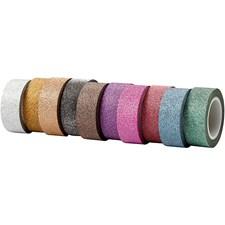 Tejp Washi Glitter Bredd 15 mm 10x6 m