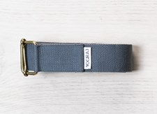 Yogabelte, Standard, 244 cm, Graphite Grey, Yogiraj