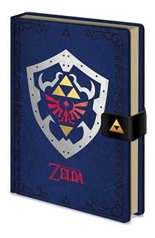 Zelda Hylian Shield Premium Notatbok
