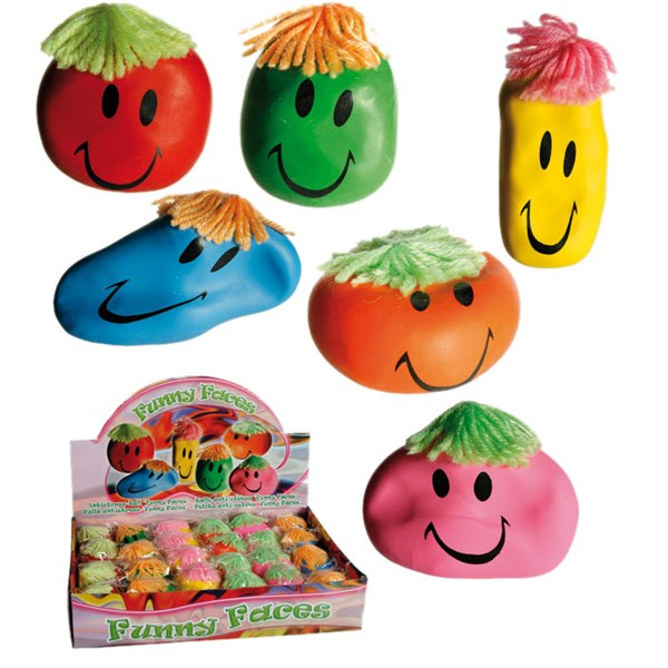 Stressboll Smiley
