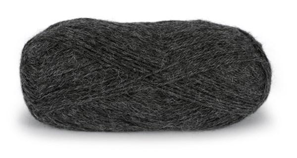 Du store Alpakka Tynn 50 g Koksgrå 110