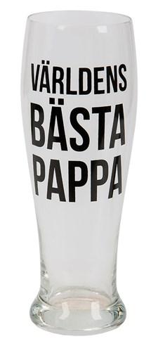 Ölglas Världens Bästa Pappa