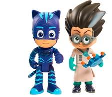 Figurset 2-pack, Kattpojken VS Romeo, Pyjamashjältarna