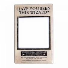 Harry Potter Fotoramme Med Magnet Wizard