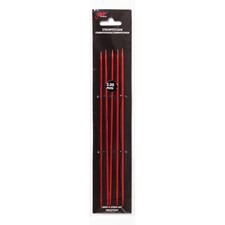 Strømpepinner 20cm/4,50mm Rød