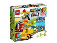 Mina första bilar och lastbilar, LEGO DUPLO My First (10816)