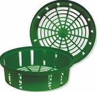 Lökkorg 25 cm ø, 1-pack, Grön