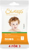 Sweeps® Baby wipes, 15st