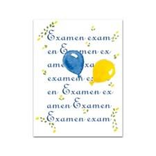 Gratulationskort Student med Snöre 6x8 cm Examen