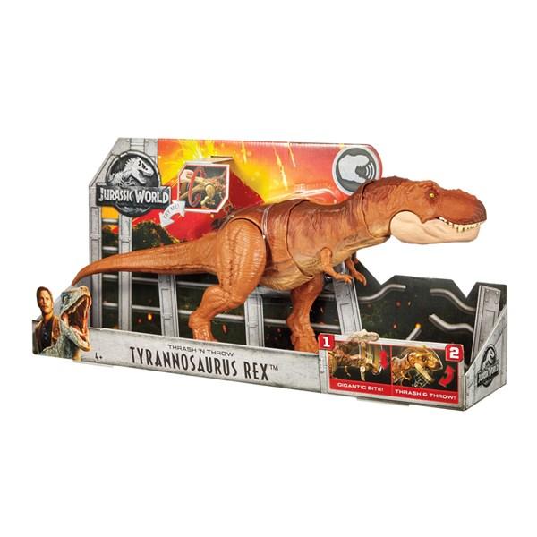 Jurassic World Trash & Throw T-Rex - figurer & miniatyrer