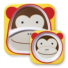 Zoo, Tallerkener, Ape, Skip Hop