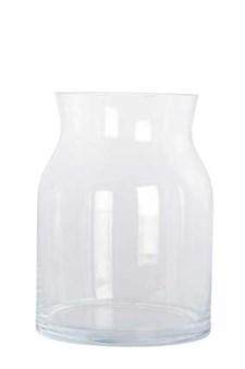 Vase, Ruby, Ø 15 cm, H 20 cm, Klar, House Doctor