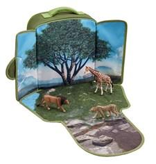 Vilda djur-lekset i ryggsäck
