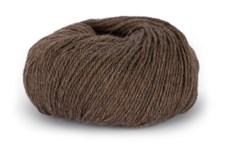 Du store Alpakka Mini Sterk Garn Ullmix 50 g Brun Melert 824