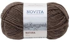 Novita Natura Wool Garn 50g, björn 065