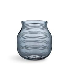 Vase, Omaggio, H 17 cm, Glass, Blå, Kähler