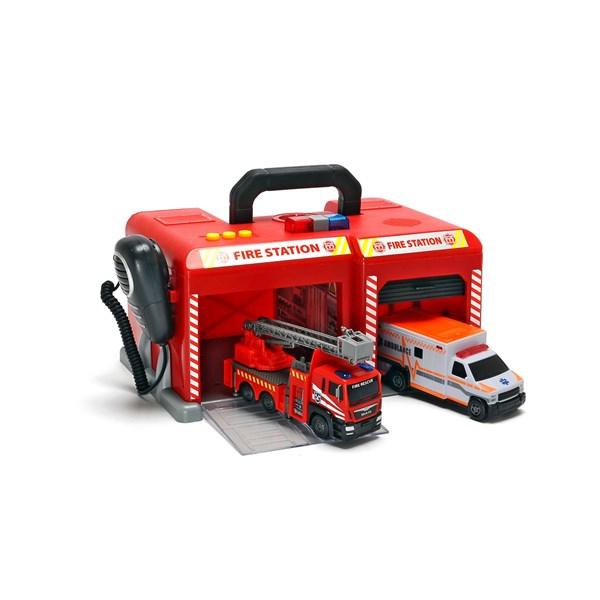 SOS International fire station  Dickie Toys - leksaksbilar & fordon