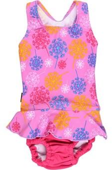 UV-baddräkt Rosa med badblöja, Rosa, Lindberg (6-9kg)