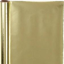 Presentpapper, B: 50 cm, 65 g, 4 m, guld
