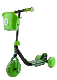 Scooter Mini Kid 3W, Black/Green, Stiga