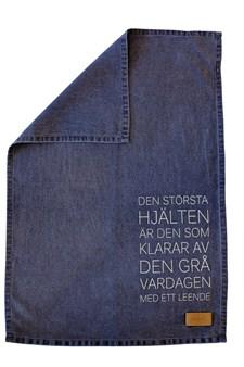 ERNST Kökshandduk Största Hjälten 47x70 cm Blå