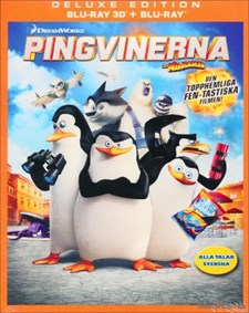 Pingvinerna från Madagaskar (Blu-ray 3D)