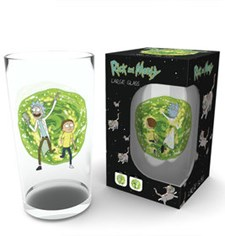 Rick And Morty Stort Glass